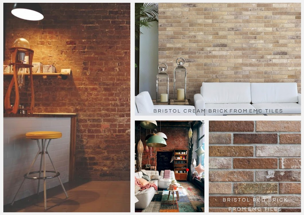 brick effect wall tiles