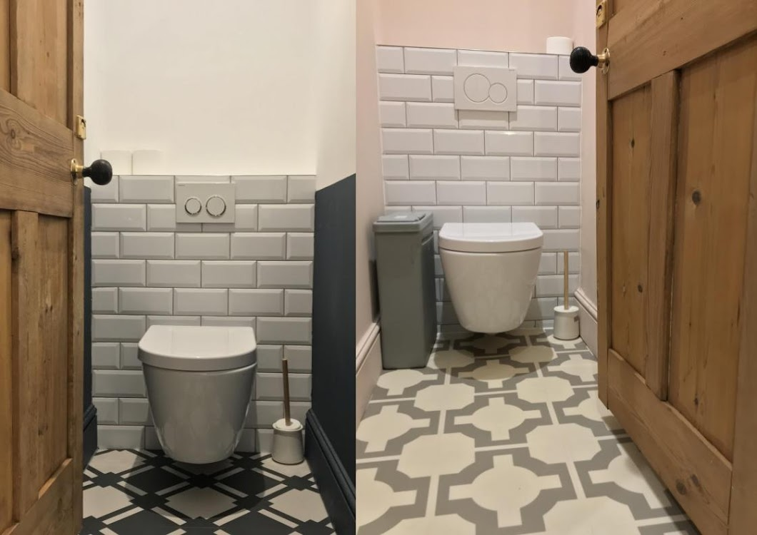 downstairs toilet ideas