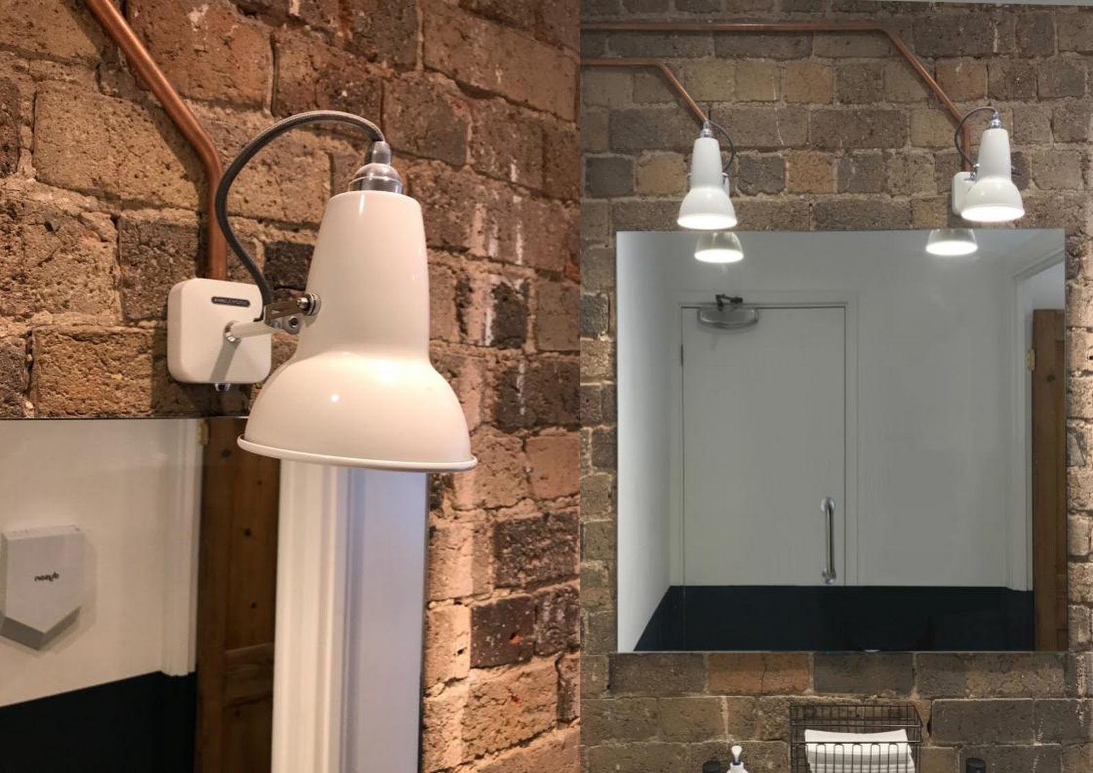 anglepoise bathroom light