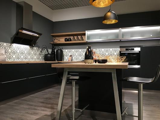 matt black kitchen