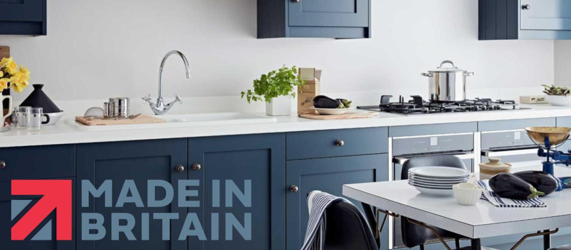 hague blue kitchens in leicester