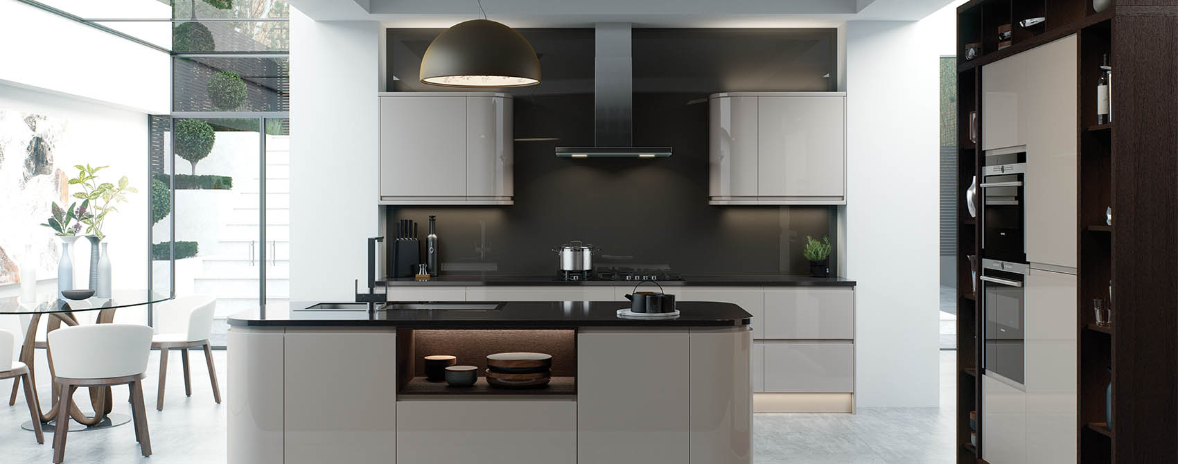 Light Grey Kitchens