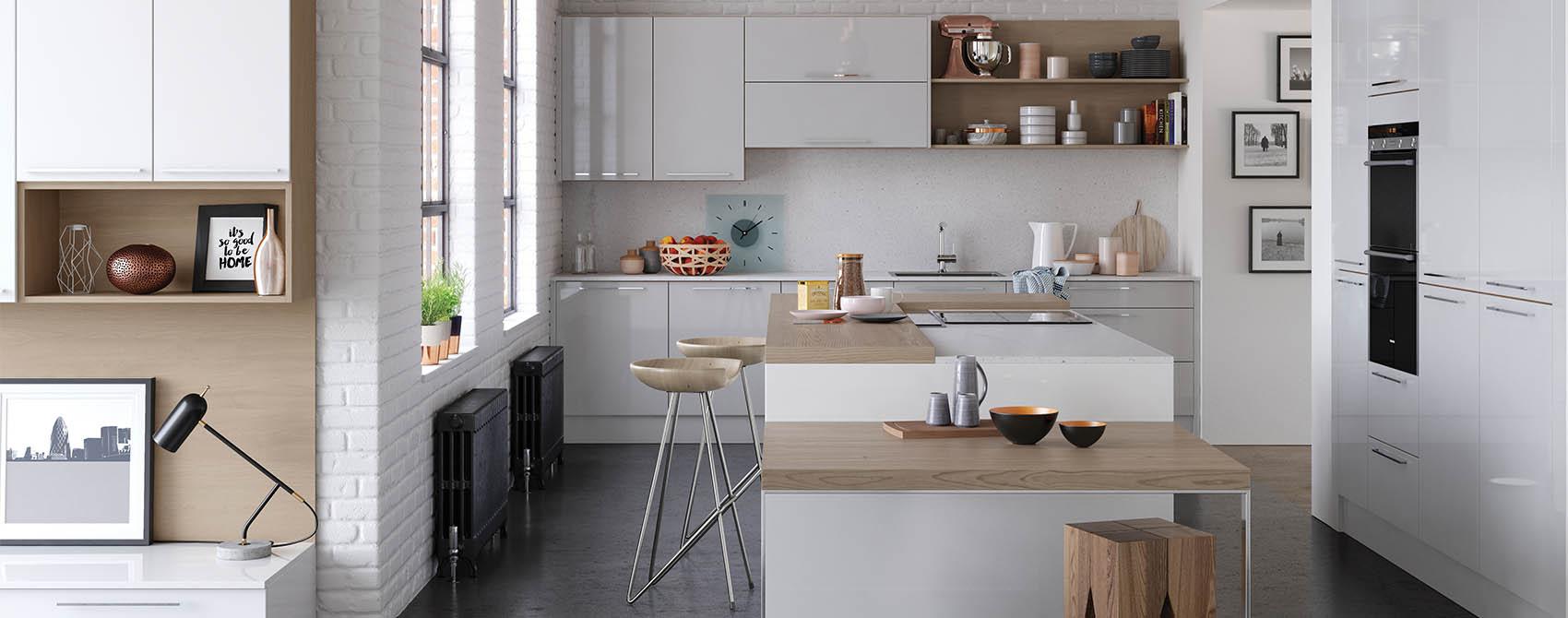 Ikea Gloss White