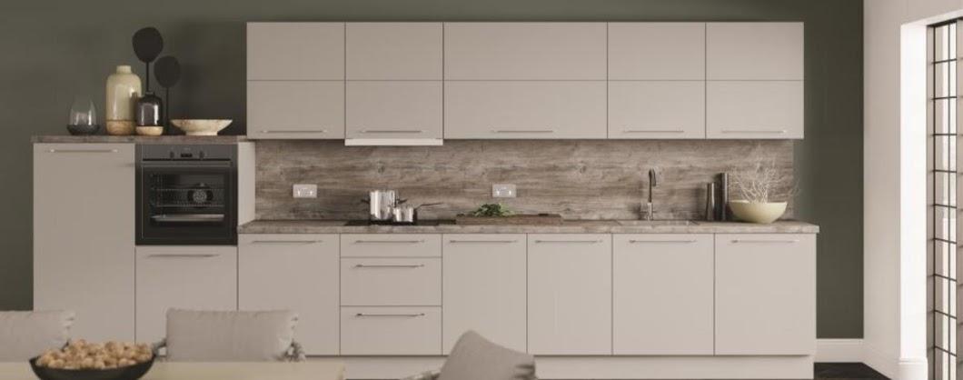 pale grey kitchen